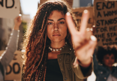 Rise Up in Protest: Tarot Reader Charisse Van Horn